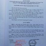QUYẾT ĐỊNH VỀ VIỆC ĐIỀU ĐỘNG ÔNG NGUYỄN NGỌC LONG- CÔNG CHỨNG VIÊN PHÒNG CÔNG CHỨNG SỐ 1, ĐẾN NHẬN NHIỆM VỤ TẠI PHÒNG CÔNG CHỨNG SỐ 2